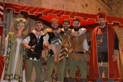 Arcieri Della Torre Con Premiati Dal Conte e Contessa